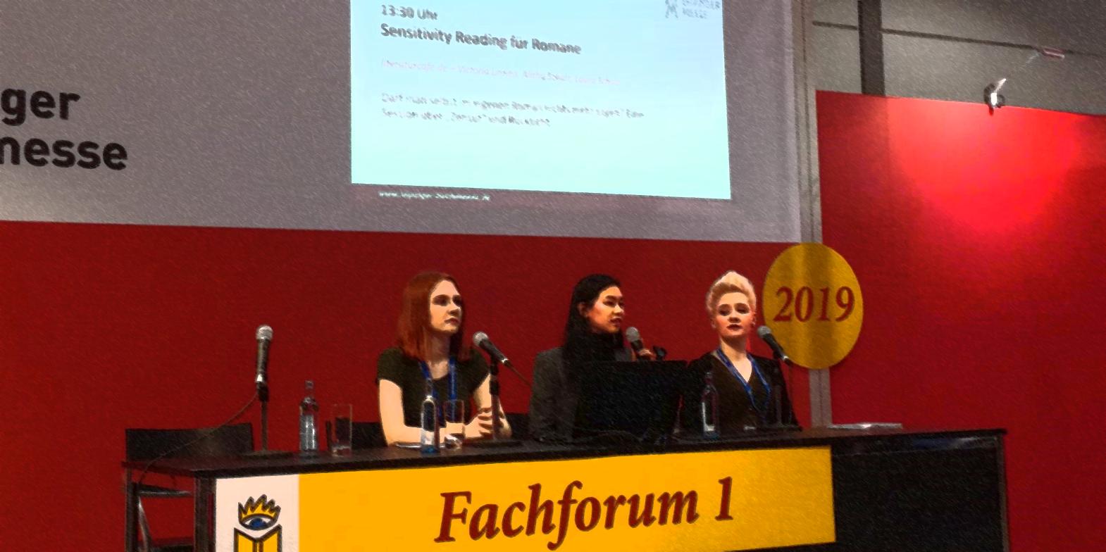 Vortrag über Sensitivity Reading beim Literaturcafé